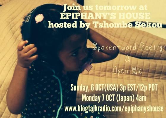 Tshombe Sekou hosts Epiphany's House