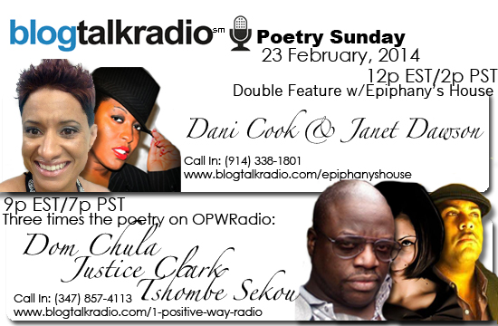 Radio Appearance | Poetry Sunday on BlogTalkRadio