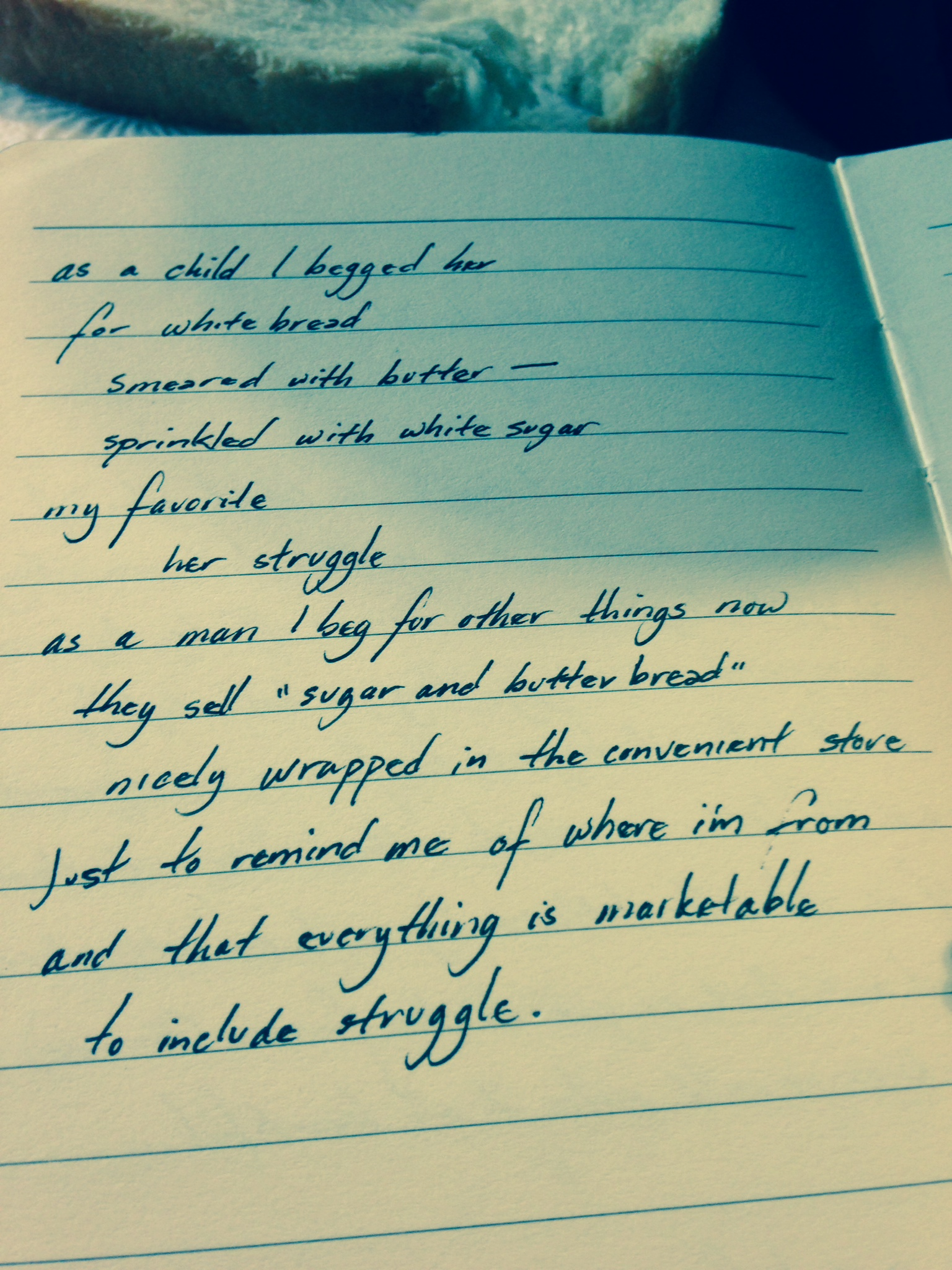 Poem 125/365:2014 | The Other Side of Struggle