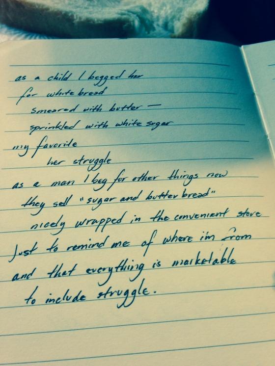 Poem 125/365:2014 | The Other Side of Struggle