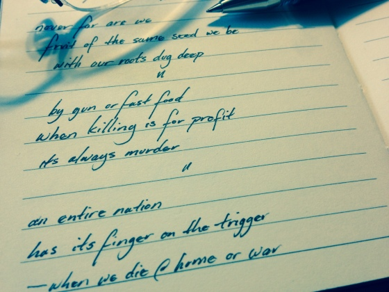 poems 211-212/365:2014 | Randomness from my Little Black Book